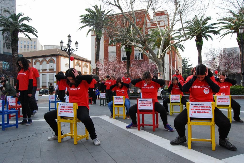 Acto de calle de la Delegación Extremadura. 2013