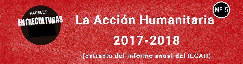 La Acción Humanitaria 2017-2018