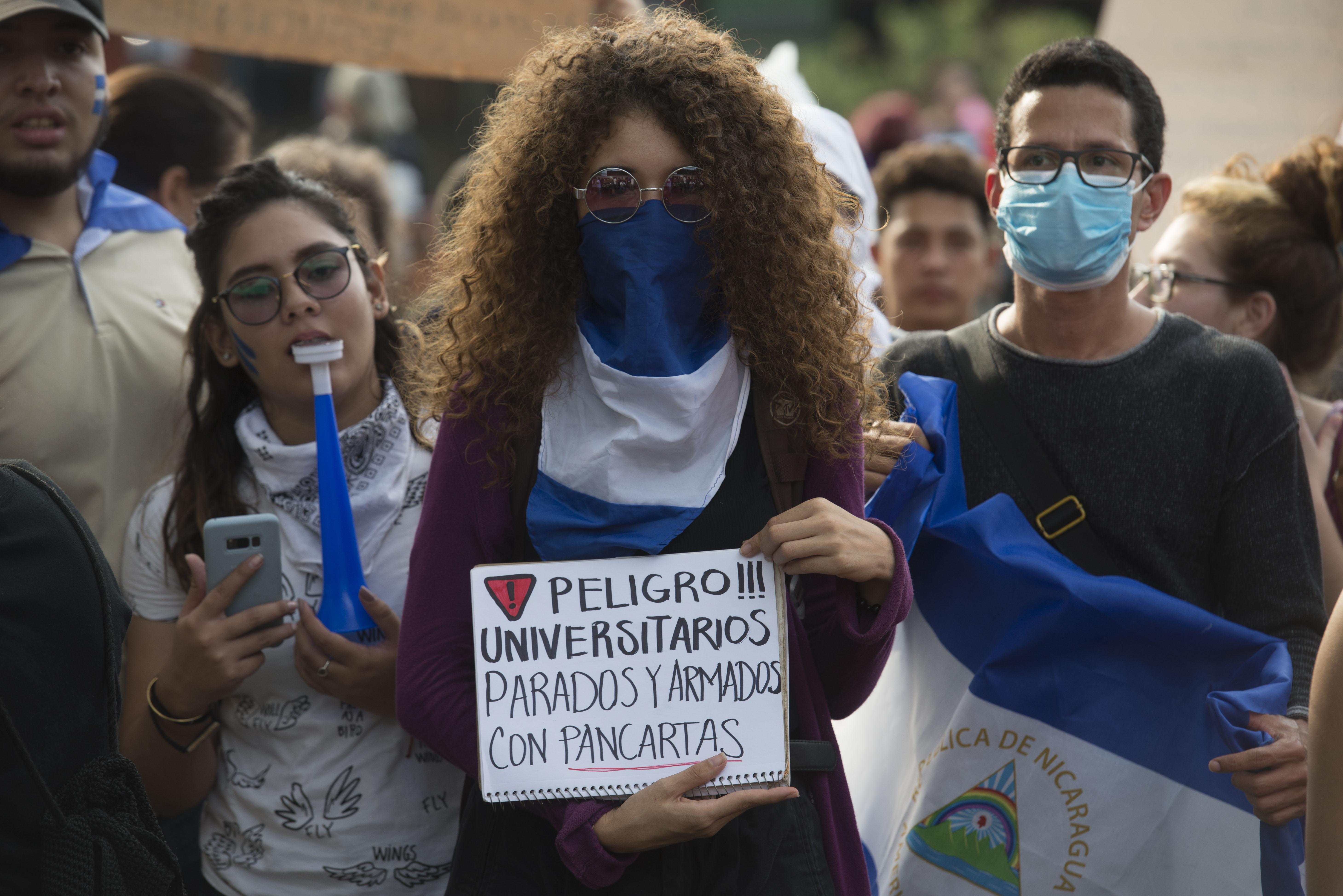 Nicaragua: cuatro meses en la lucha