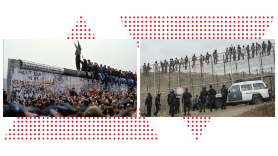 30 años y 70 muros después de la caída del Muro de Berlín