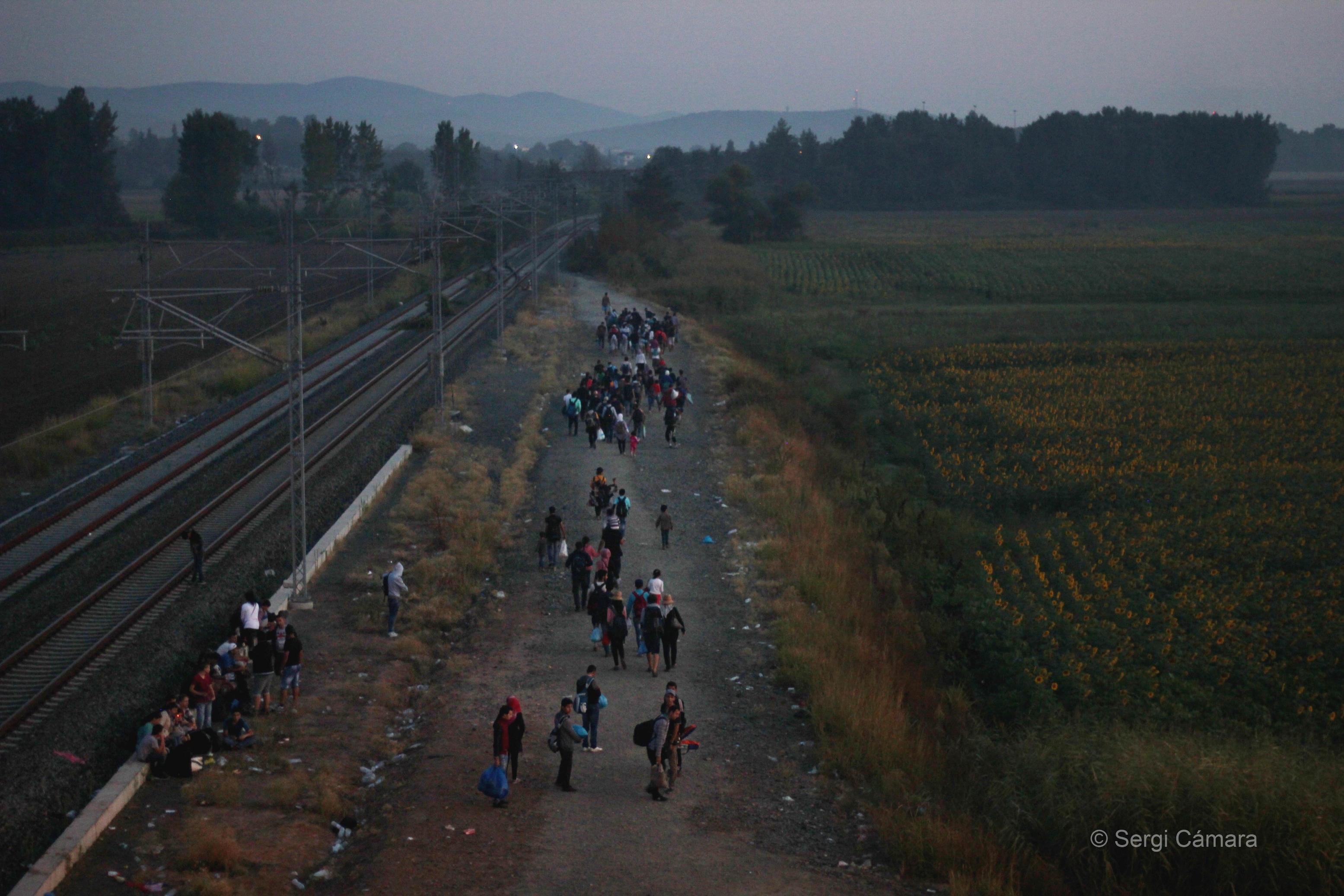 Vídeo 2. Crisis de refugiados en Europa