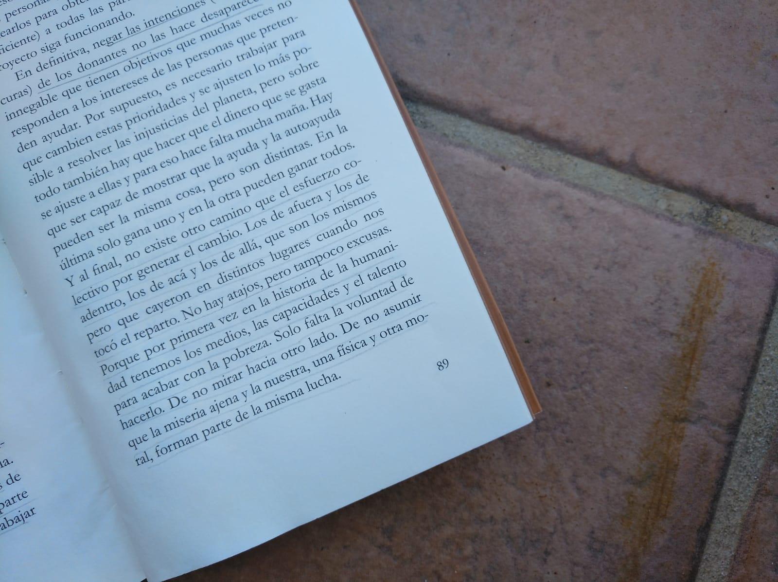 Libros que vuelan: Ser pobre