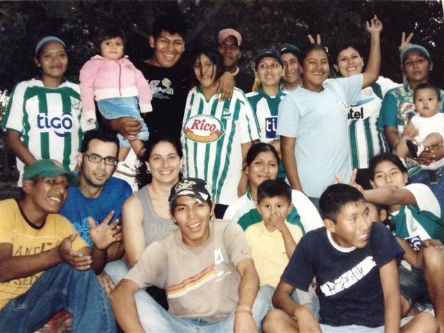 Yolanda fue VOLPA en Bolivia durante dos años