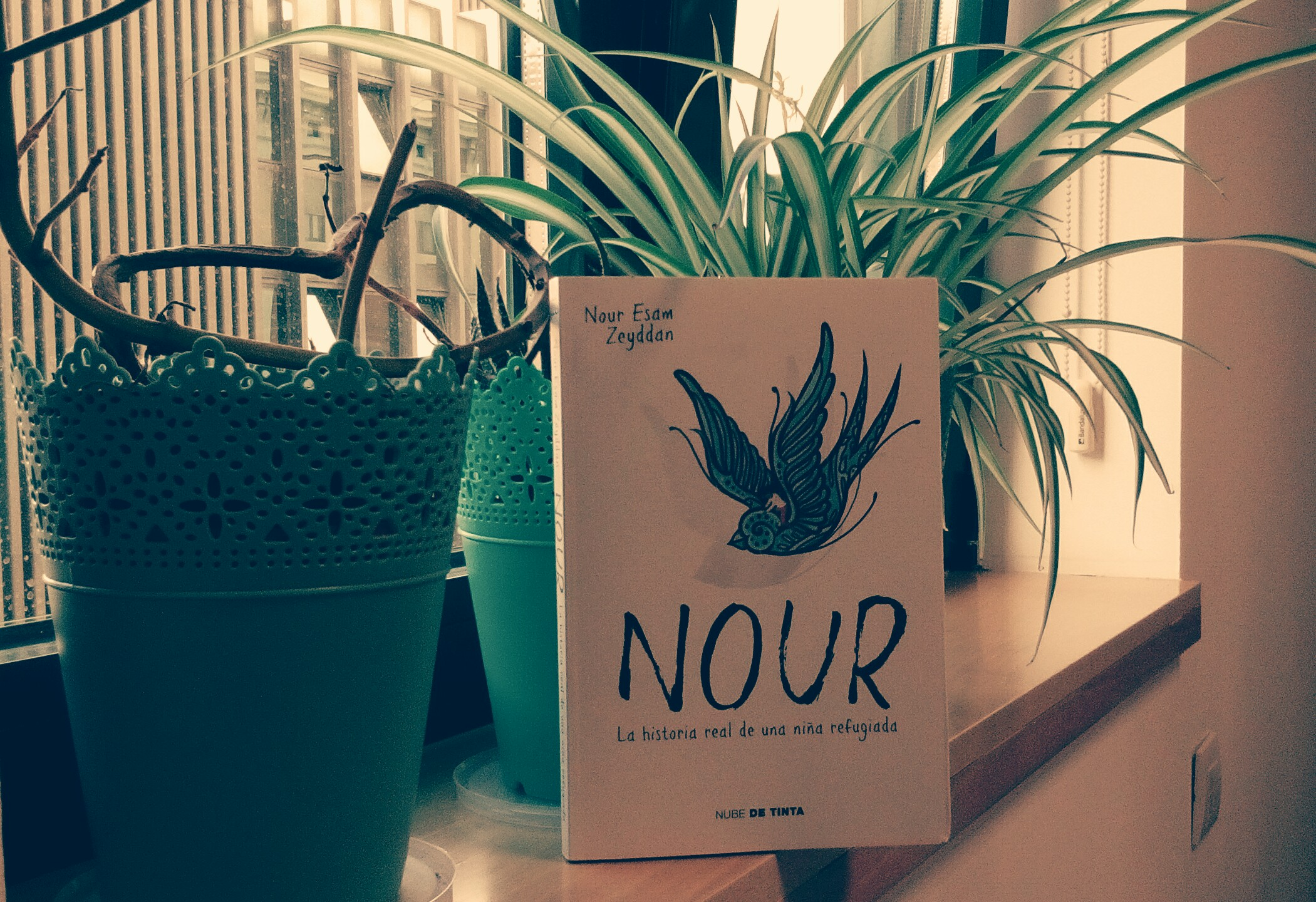Nour, la historia real de una niña refugiada